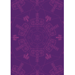 Crown Windsor Purple Designer Blinds